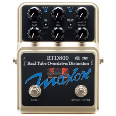 פדל דיסטורשן Maxon RTD800 Real Tube Overdrive-Distortion Pedal